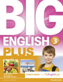 Big English Plus 3 Pupils' Book with MyEnglishLab Access Code Pack av Mario Herrera og Christopher Sol Cruz (Blandet mediaprodukt)