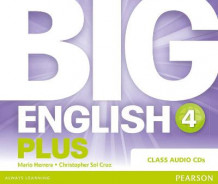 Big English Plus 4 Class CD av Mario Herrera og Christopher Sol Cruz (Lydbok-CD)