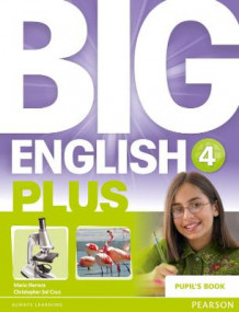 Big English Plus 4 Pupil's Book av Mario Herrera og Christopher Sol Cruz (Heftet)