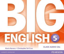 Big English Plus 5 Class CD av Mario Herrera og Christopher Sol Cruz (Lydbok-CD)