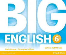 Big English Plus 6 Class CD av Mario Herrera og Christopher Sol Cruz (Lydbok-CD)