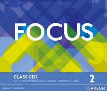 Focus Bre 2 Class CDs av Vaughan Jones, Sue Kay og Daniel Brayshaw (Lydbok-CD)