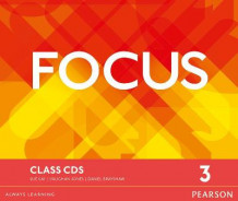 Focus Bre 3 Class CDs av Vaughan Jones, Sue Kay og Daniel Brayshaw (Lydbok-CD)
