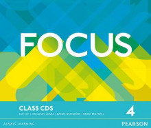 Focus Bre 4 Class CDs av Vaughan Jones, Sue Kay og Daniel Brayshaw (Lydbok-CD)