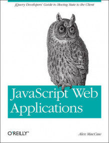 JavaScript Web Applications av Alex MacCaw (Heftet)