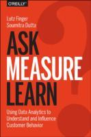 Ask, Measure, Learn av Lutz Finger og Soumitra Dutta (Heftet)