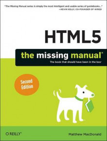 HTML5: The Missing Manual av Matthew MacDonald (Heftet)