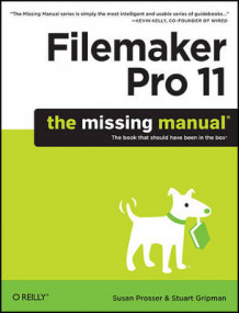 Filemaker Pro 11: The Missing Manual av Susan Prosser og Stuart Gripman (Heftet)