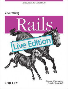 Learning Rails: Live Edition av Simon St.Laurent og Edd Dumbill (Heftet)