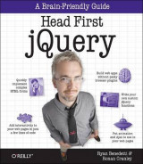 Omslag - Head First jQuery