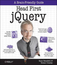 Head First jQuery av Ryan Benedetti (Heftet)