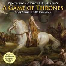 Quotes from George R. R. Martin's a Game of Thrones Book Series Day-To-Day Calendar av George R R Martin (Kalender)