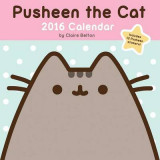Omslag - Pusheen the Cat 2016 Wall Calendar