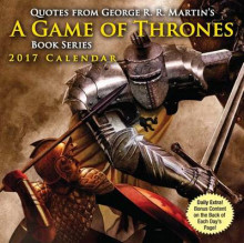 Quotes from George R.R. Martin's A Game of Thrones Book Series Day-To-Day Calendar av George R R Martin (Kalender)