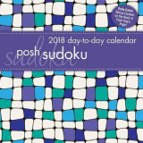 Omslag - Posh: Sudoku 2018 Day-to-Day Calendar