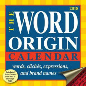 Word Origin 2018 Day-to-Day Calendar av Gregory McNamee (Kalender)