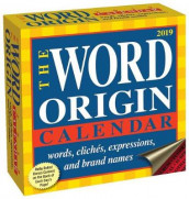 Word Origin 2019 Day-to-Day Calendar av Gregory McNamee (Kalender)