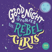 Good Night Stories for Rebel Girls 2019 Square Wall Calendar av Francesca Cavallo og Elena Favilli (Kalender)