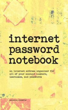 Internet Password Notebook av Melanie Roberts (Heftet)