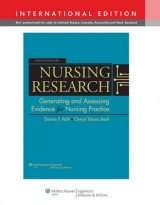 Omslag - Nursing research - generating and assessing evidence for nursing practice