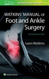 Omslag - Watkins Manual of Foot and Ankle Medicine and Surgery
