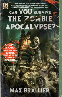 Can You Survive the Zombie Apocalypse? av Max Brallier (Heftet)