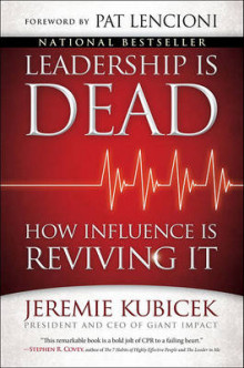 Leadership Is Dead av Jeremie Kubicek (Innbundet)