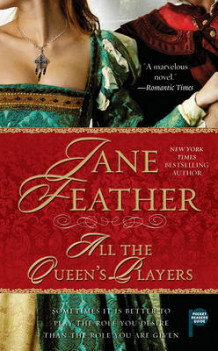 All the Queen's Players av Jane Feather (Heftet)
