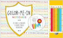 Colour-me-in Notecards av Rose Lazar (Undervisningskort)