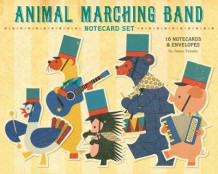 Animal Marching Band Notecard Set av Junzo Terada (Andre trykte artikler)