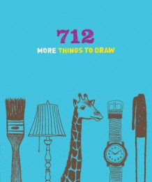 712 More Things to Draw Journal (Dagbok)