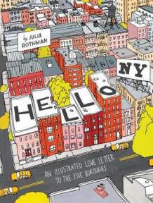 Hello, New York av Julia Rothman (Innbundet)