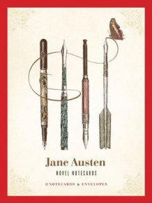 Jane Austen Novel Notecards av Jane's Papers (Postkort)