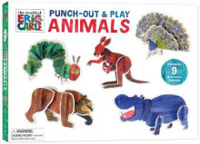 Eric Carle: Punch-Out & Play Animals av Eric Carle (Undervisningskort)