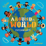 Omslag - Around the World Matching Game
