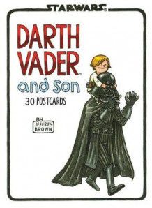 Darth Vader and Son Postcard Book av Jeffrey Brown (Kalender)