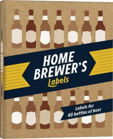 Home Brewer's av Chronicle Books (Klistremerker)
