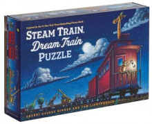 Steam Train, Dream Train Puzzle av Sherri Duskey Rinker og Tom Lichtenheld (Spill)