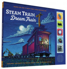 Steam Train, Dream Train Sound Book av Sherri Duskey Rinker (Innbundet)