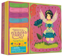 Fantastical Fairies Lacing Cards av Chronicle Books (Undervisningskort)