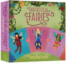 Fantastical Fairies Fairy Ring Puzzle av Chronicle Books (Dagbok)