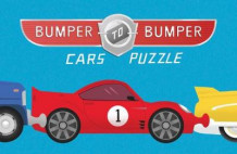 Bumper-to-Bumper Cars Puzzle av Chronicle Books (Leke)