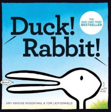 Duck! Rabbit! av Amy Krouse Rosenthal (Pappbok)