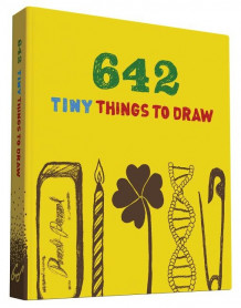642 Tiny Things to Draw av Chronicle Books (Minnebok)
