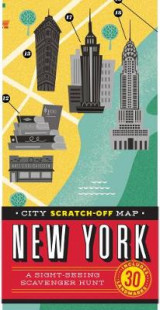 Omslag - City Scratch-Off Map: New York
