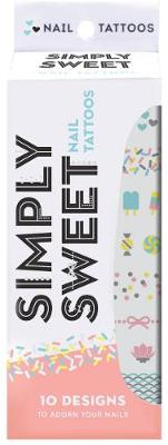 Simply Sweet Nail Tattoos av Chronicle Books (Andre trykte artikler)