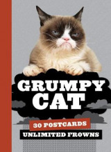 Omslag - Grumpy Cat postcard book. 30 postcards. Unlimited