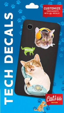Cats on the Go Tech Decals av Chronicle Books (Klistremerker)