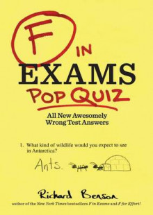 F in Exams: Pop Quiz av Kamens Richard Benson (Heftet)