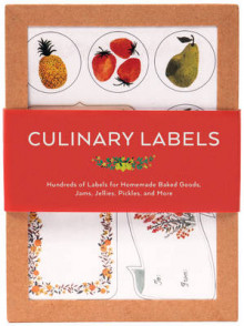 Culinary Labels av Chronicle Books (Klistremerker)
